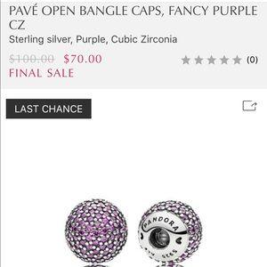 Pandora Jewelry - Pandora OPEN BANGLE CAPS
